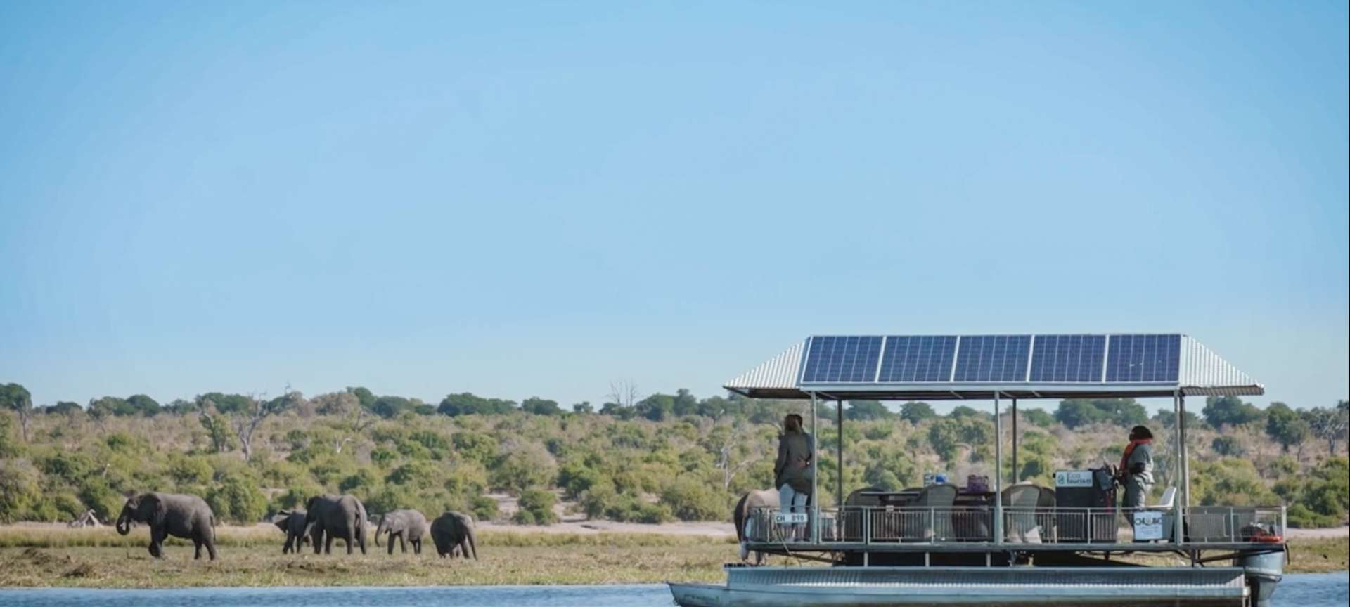 Houseboating on the Chobe