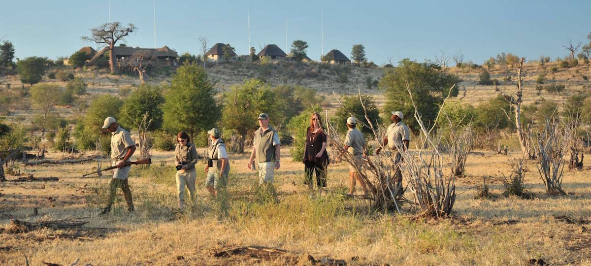 May is an ideal time for game viewing in Botswana