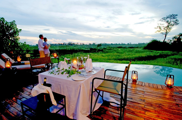 There are many options for the romantic at heart in Botswana