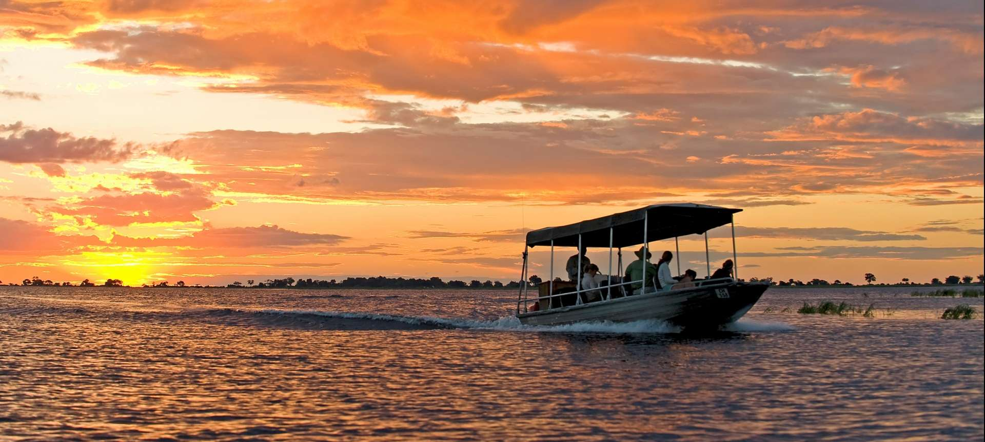 A boat cruise on the Chobe river is a magical experience