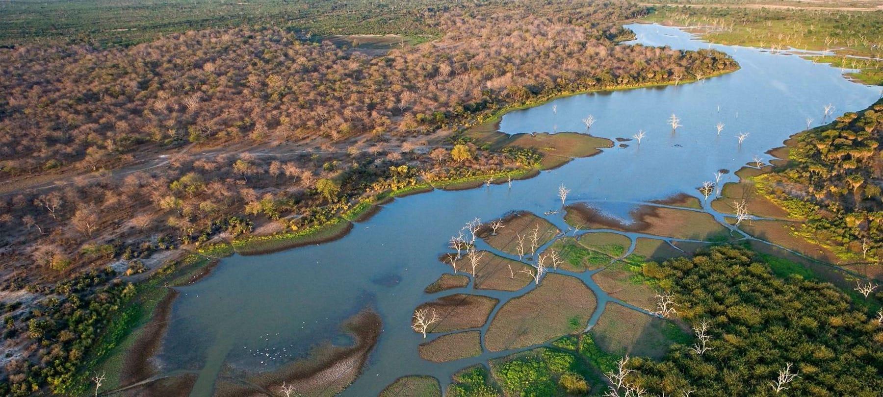 The Okavango Delta is one of Africa's marvels
