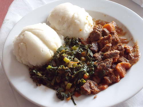 A traditional dish in Botswana