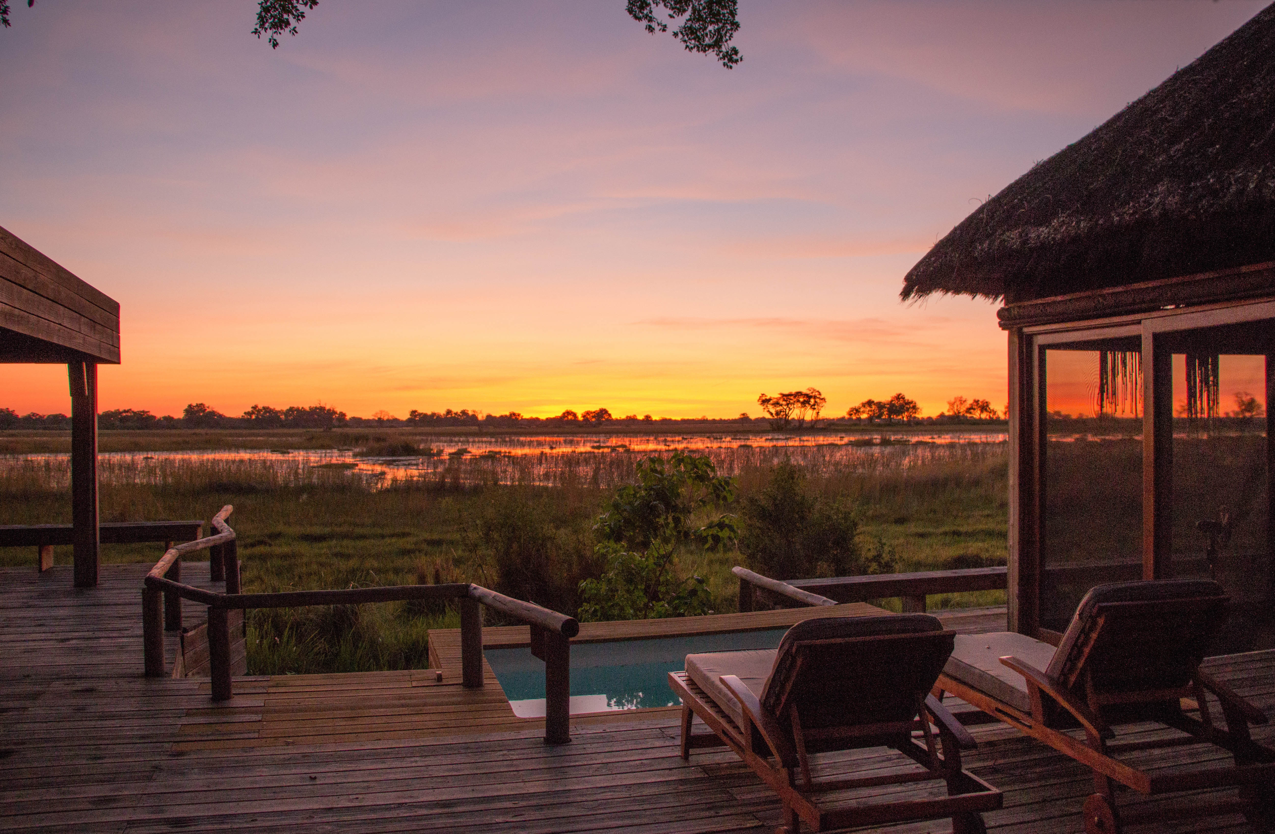 A lodge in Botswana (credit Rachel Lang)