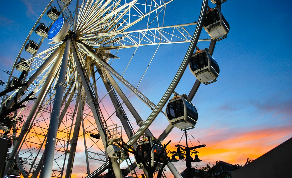The Cape Wheel is in the V&A Waterfront and will be enjoyed by the whole family  Credit: Safari365