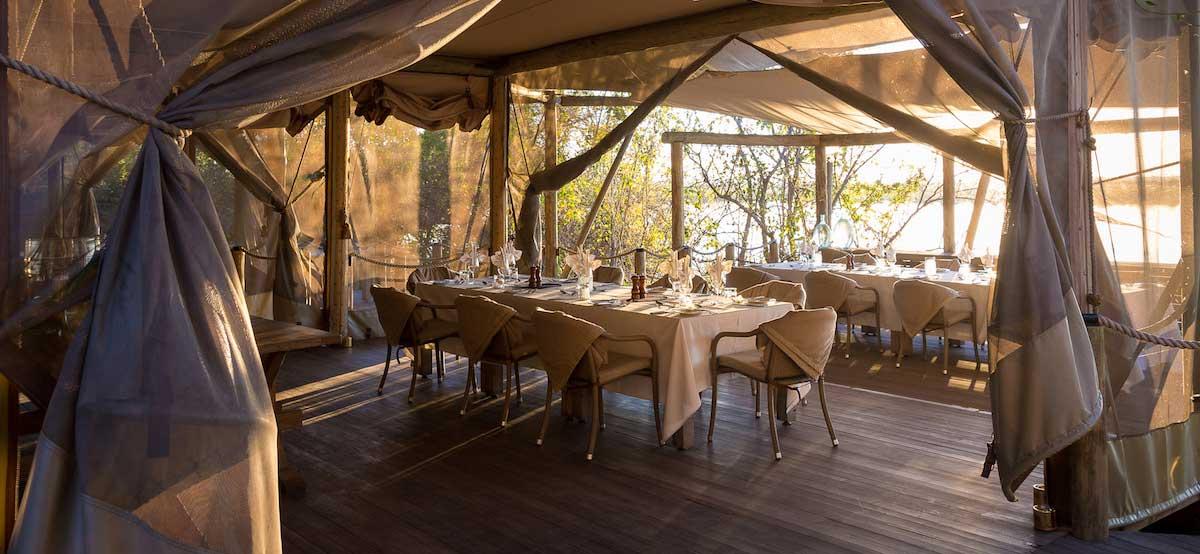 duma tau camp botswana safari