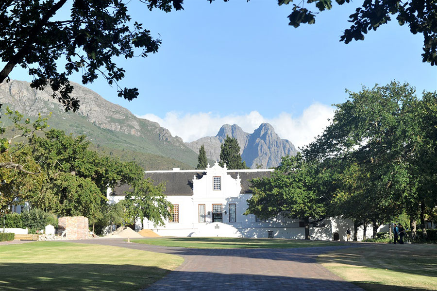 lanzerac wine estate where to eat in cape town