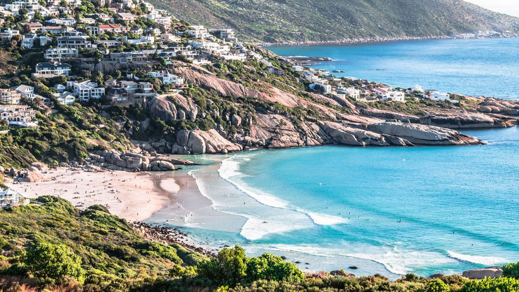 Llandudno beach is a secluded spot where you can appreciate the beauty of the Cape without throngs of people.
