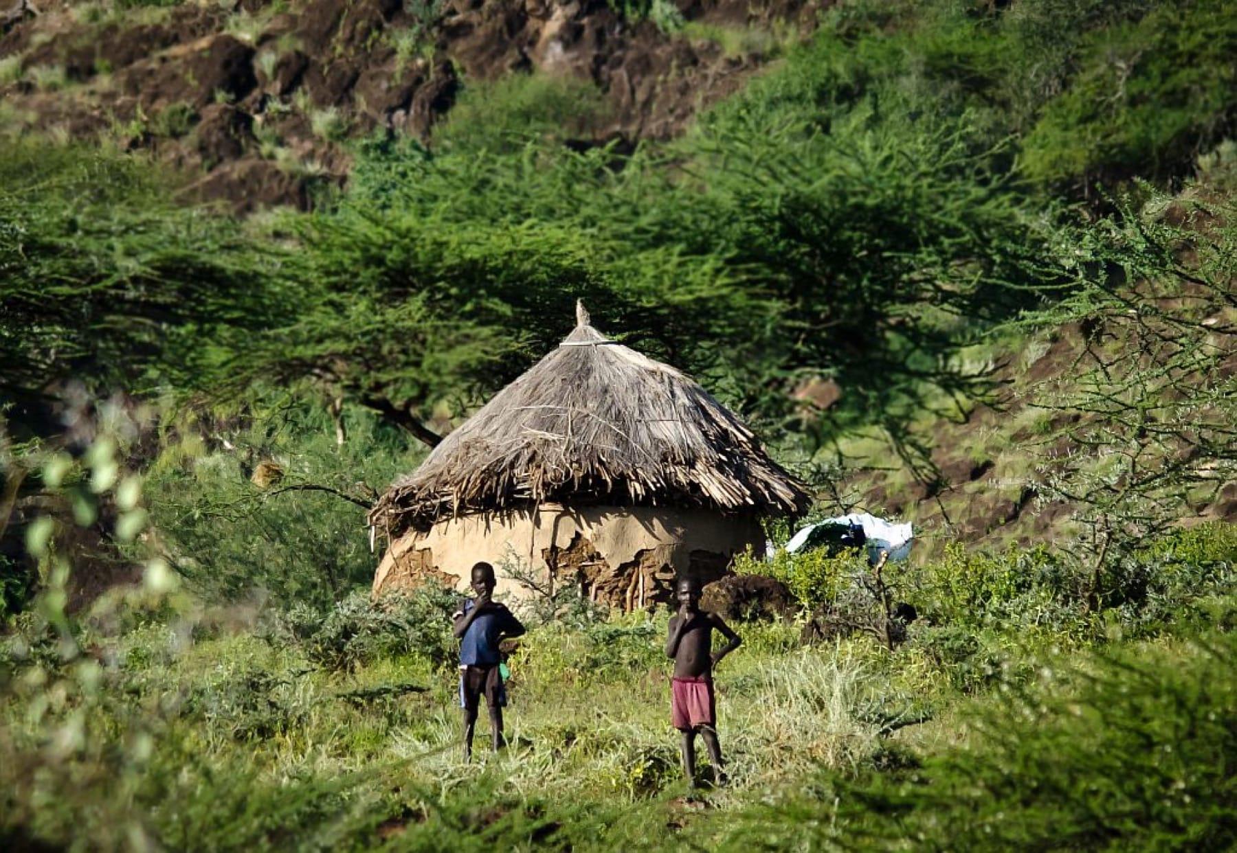 Njemp Huts_Bogoria_Kenya