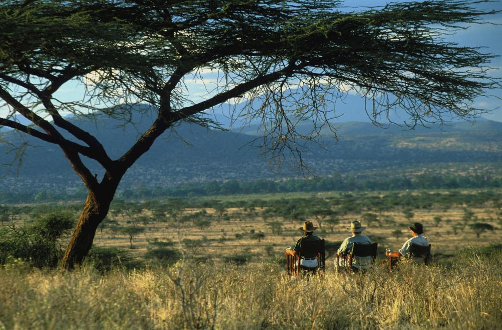 Samburu-Buffalo Springs-Shaba National Reserves in Kenya
