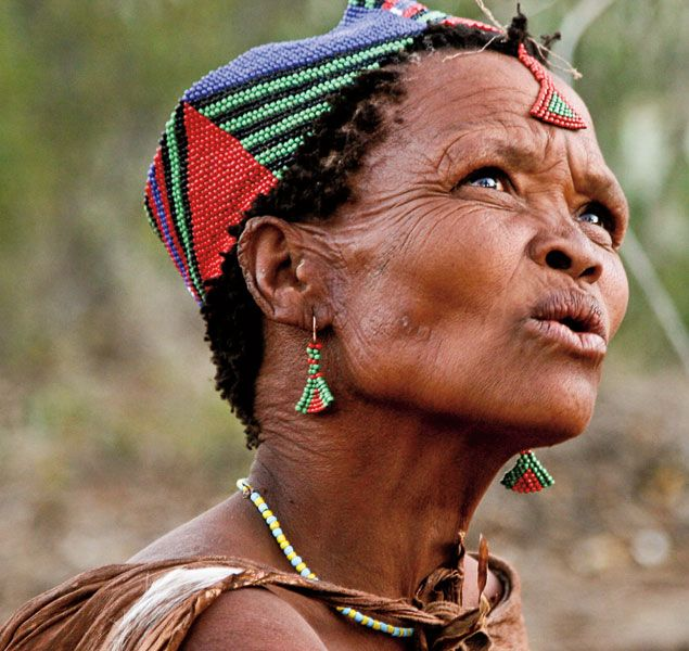 Remarkable, rather San people of botswana with
