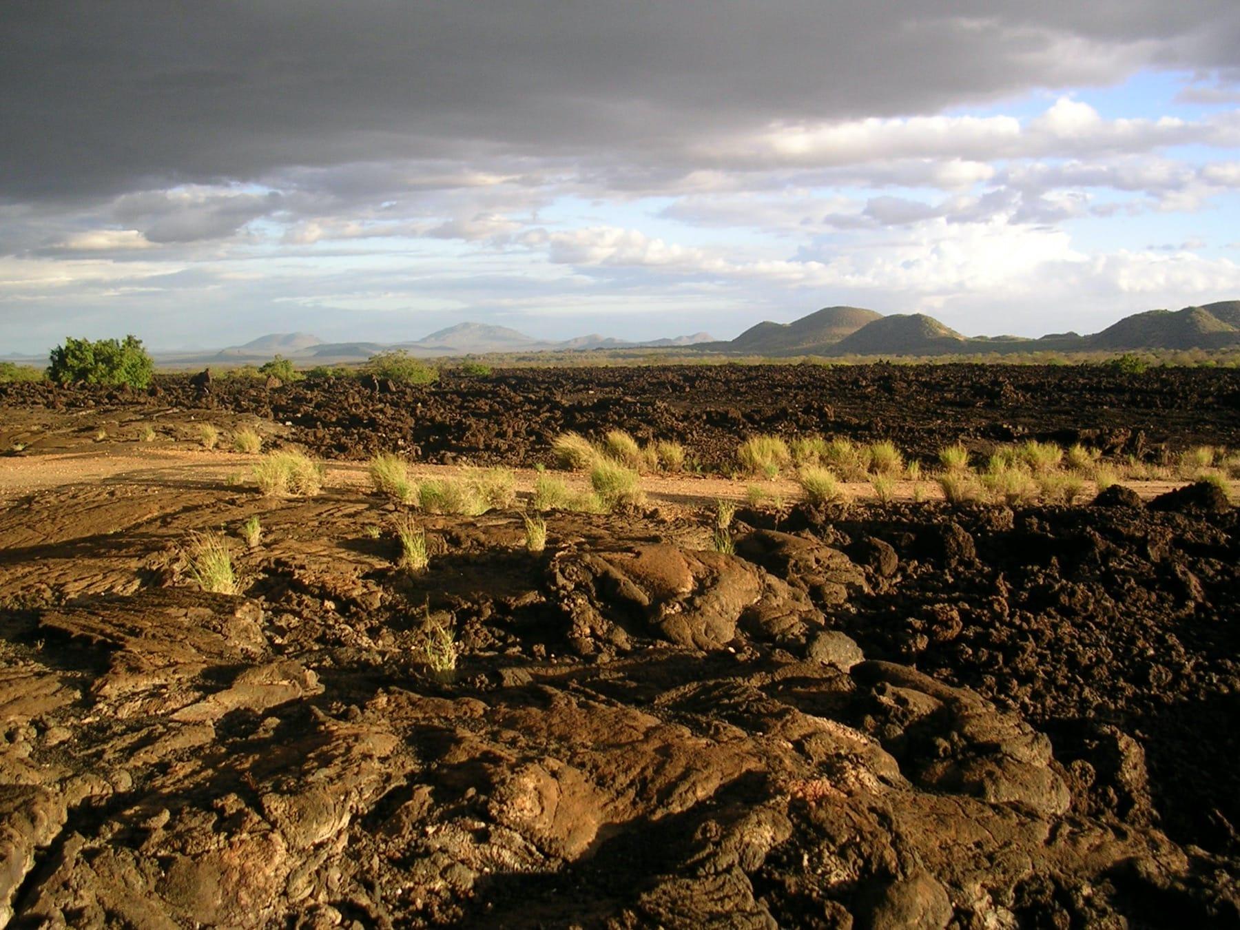 shetani lava flow