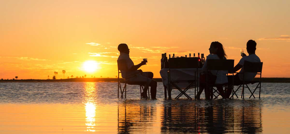 Watch the sun go down after an amazing day in the Chobe bush   Credit: Rachel Lang