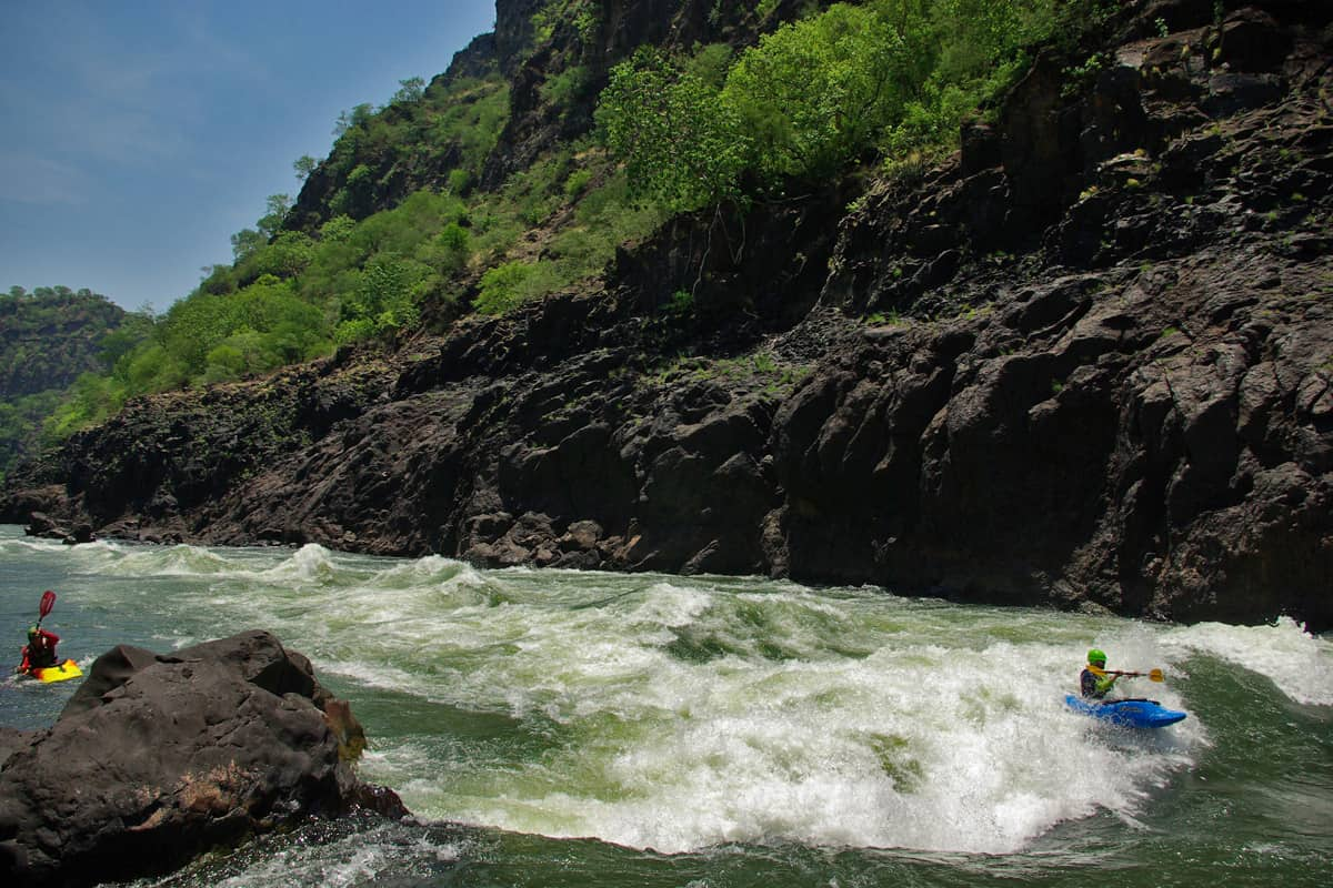 Experience the mighty Zambezi river in full flow from Feb-May