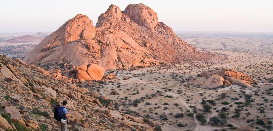 hiking namibia