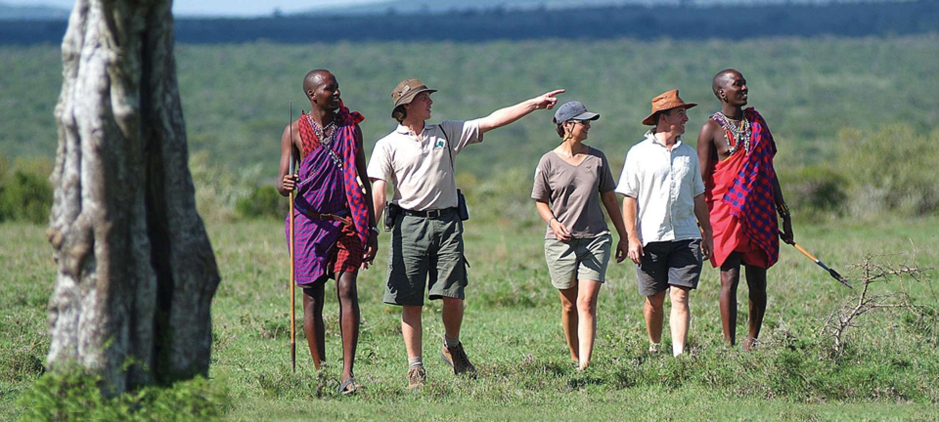 walking safari kenya