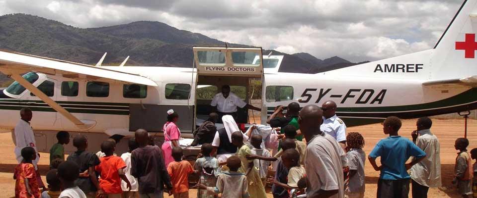 AMREF flyuing doctors  I  Credit: Great Lake Safaris