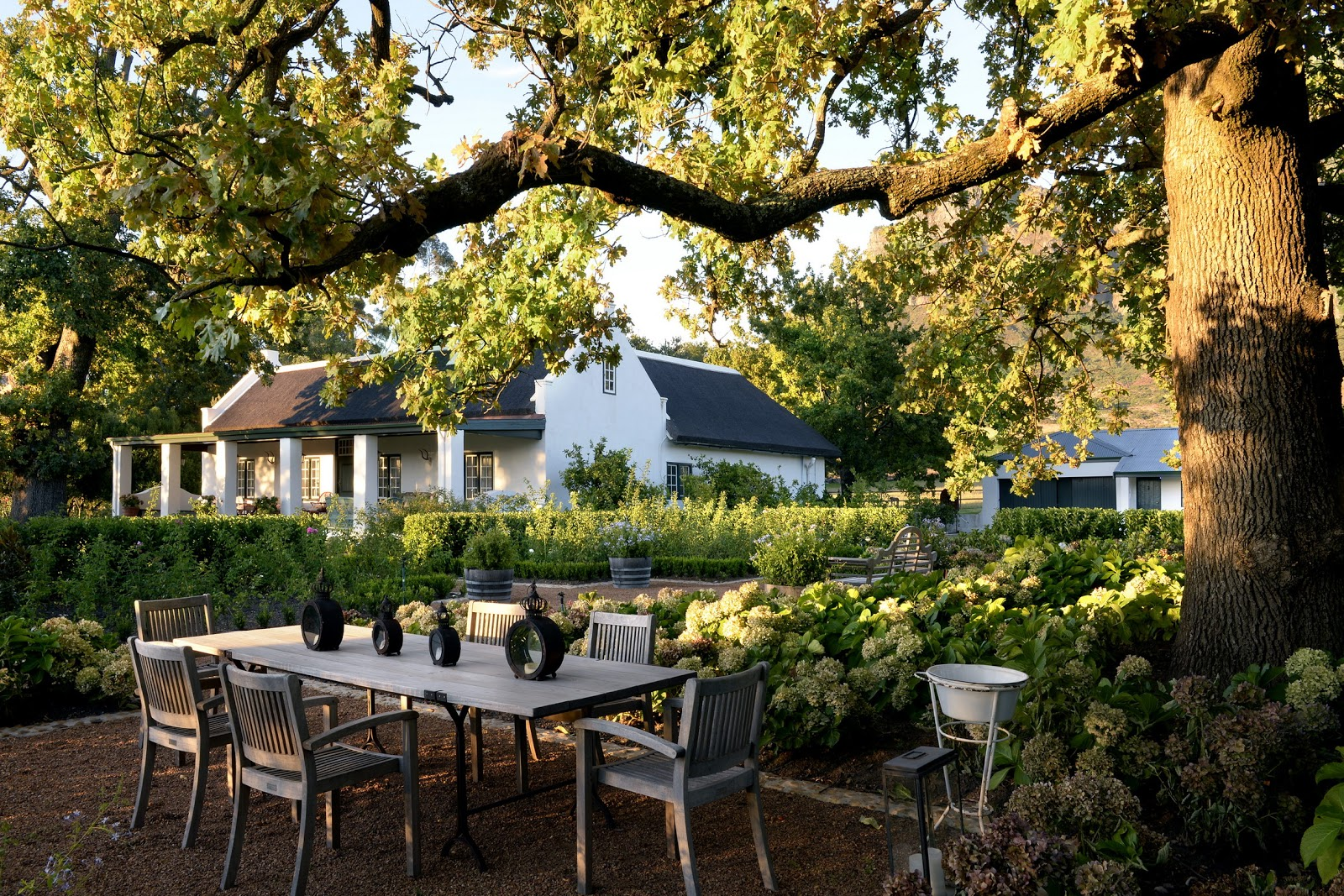 Stellenbosch Boschendal wine estate where to eat in cape town
