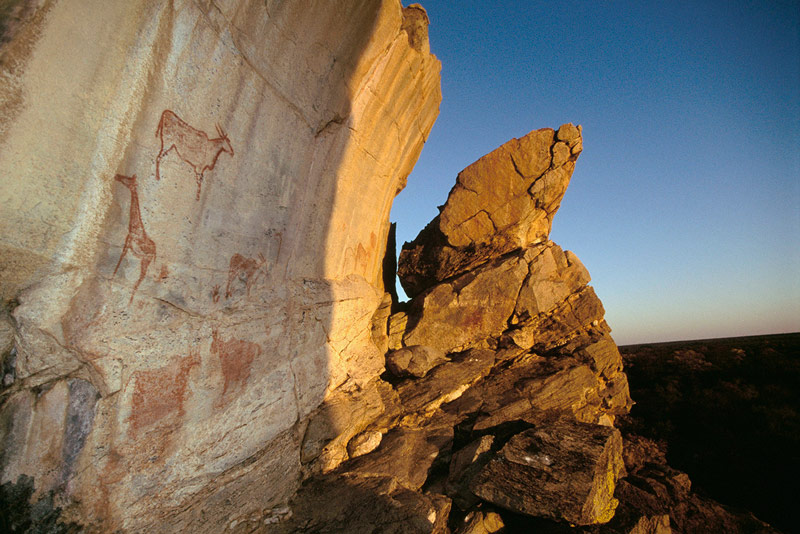 Tsodilo Hills is one of the world's oldest inhabited sites, with archaeological evidence dating back 60,000 years.