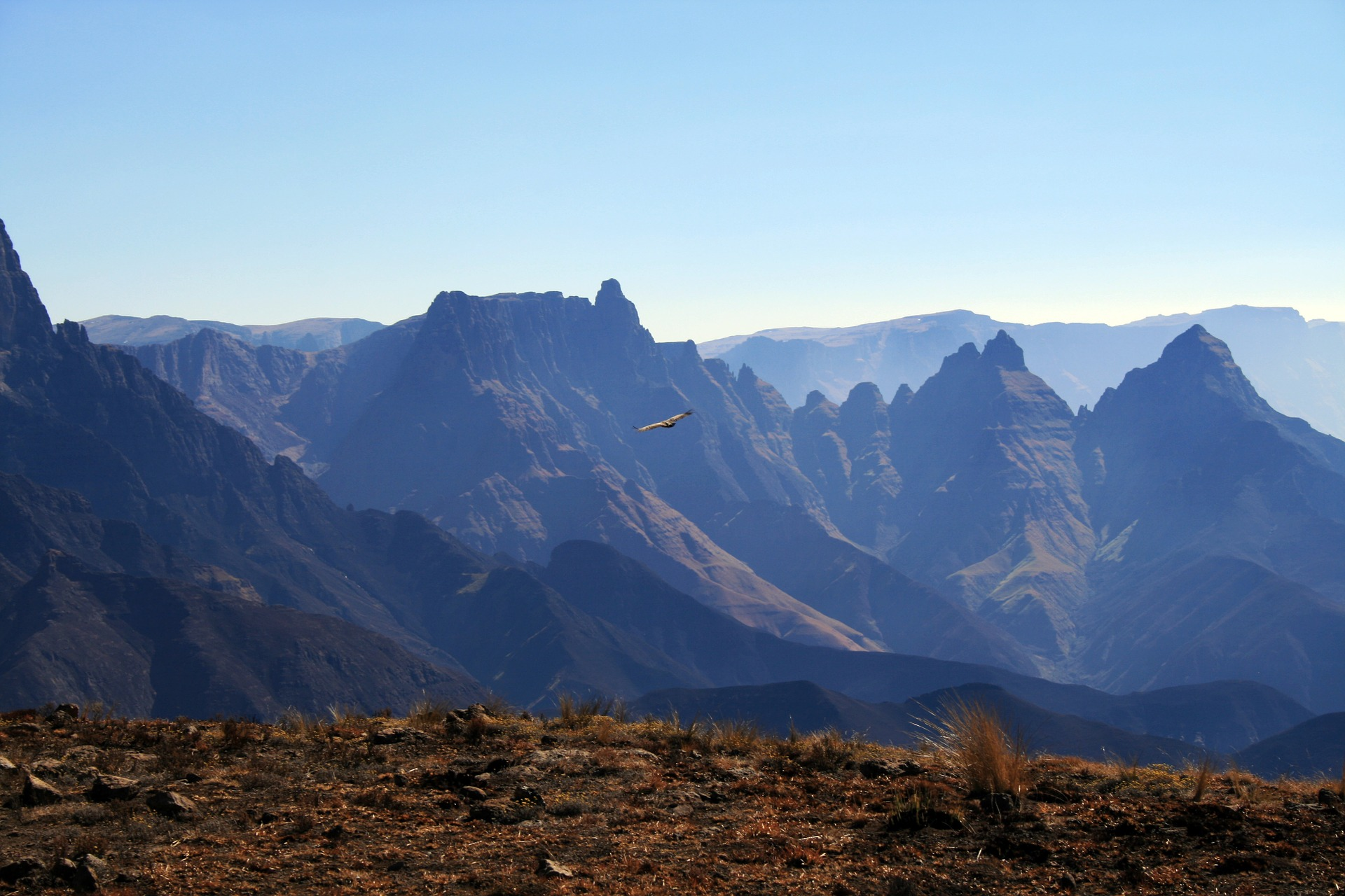 Cathedral Peak in the Drakensberg