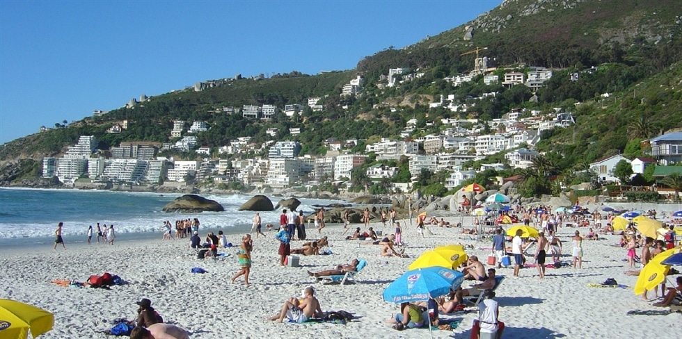 Clifton 1st beach is a hive of activity in the summer months  Credit: The Bay Atlantic