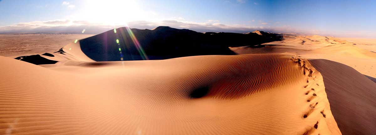 beautiful desert landscape namibia