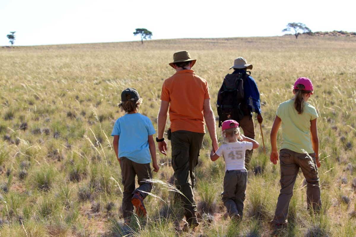 family safari namibia