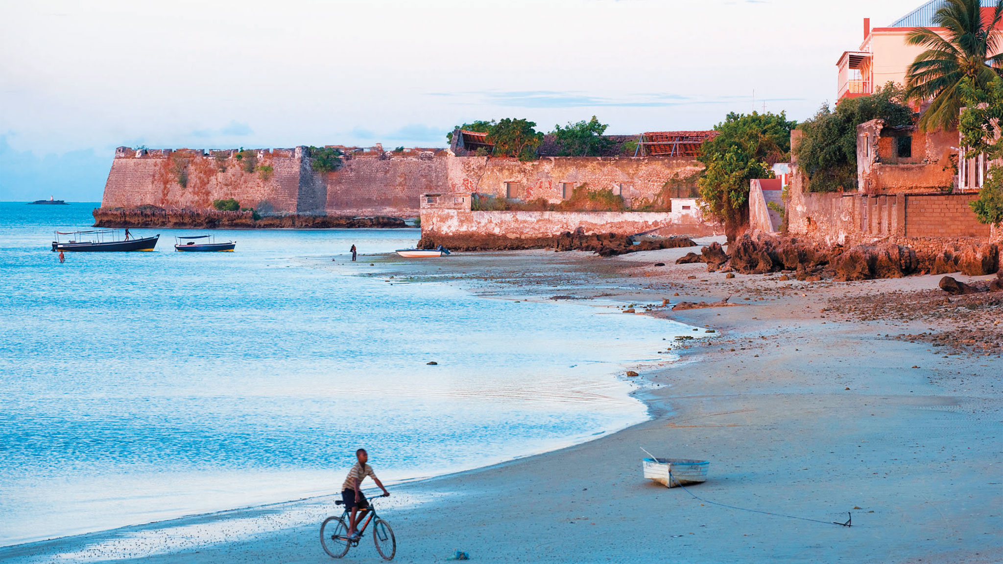 financial times beach cycling mozambique holiday