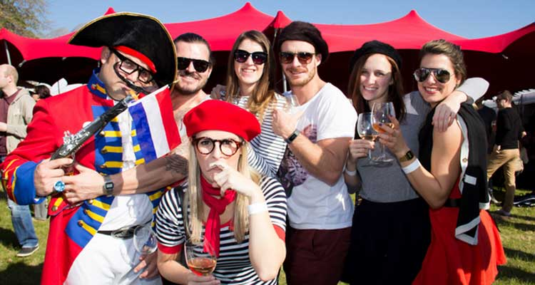 The Bastille Day festival in Franschhoek is a must on the social calendar for winter