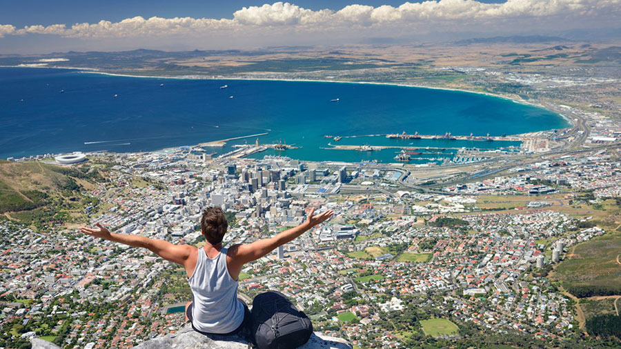An active holiday in South Africa_Hiking Table Mountain