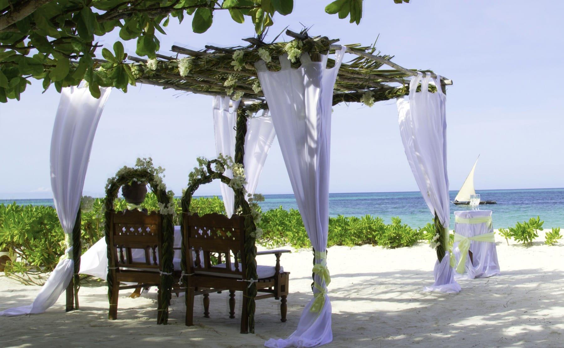 wedding in zanzibar honeymoon holiday
