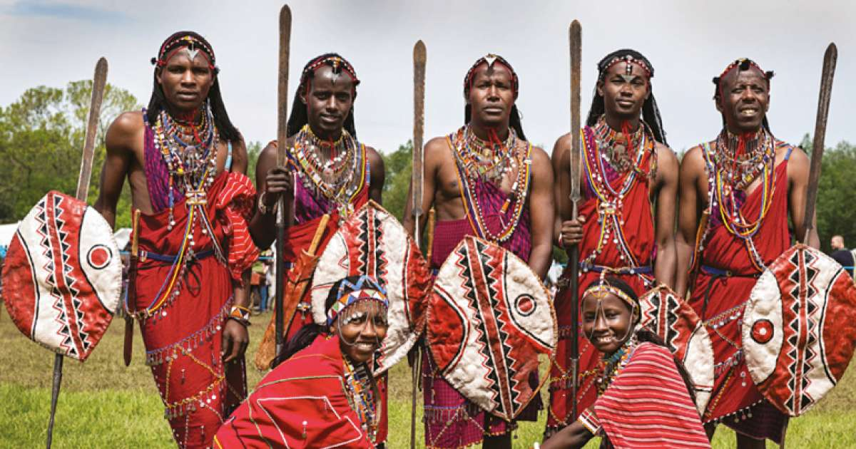 The Maasai's unique way of life and colourful dress code which has stood the test of time, credit: Pulselive.co.ke