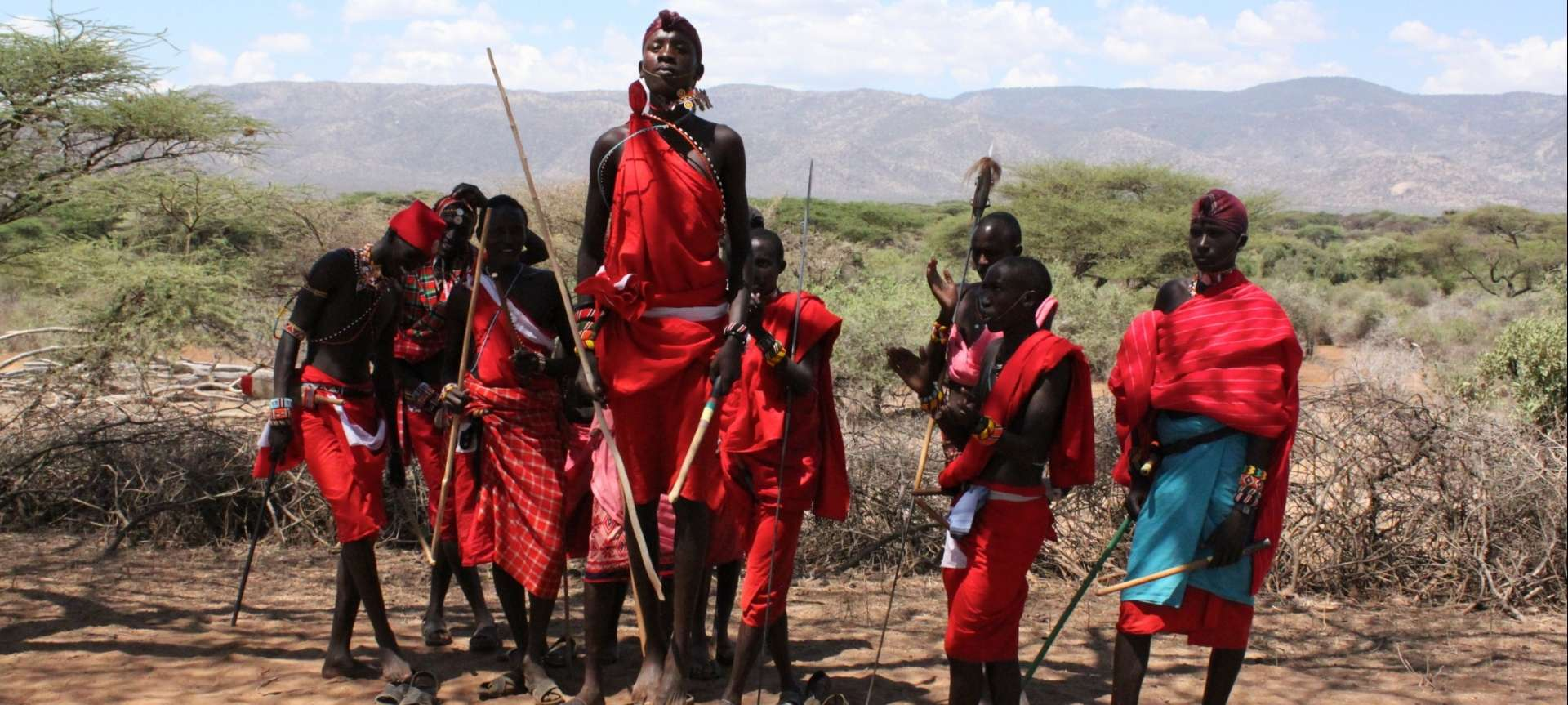 The Maasai people of Kenya