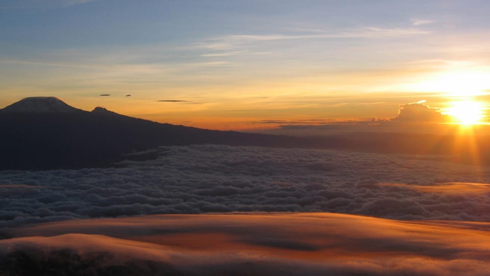 kilimanjaro to mount meru climb