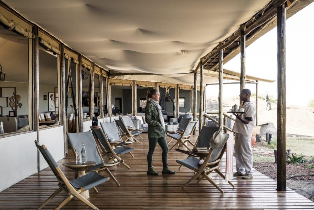 luxury safari southern serengeti kusini camp
