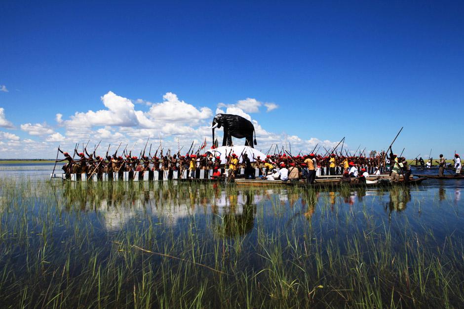 lozi people kuomboka ceremony