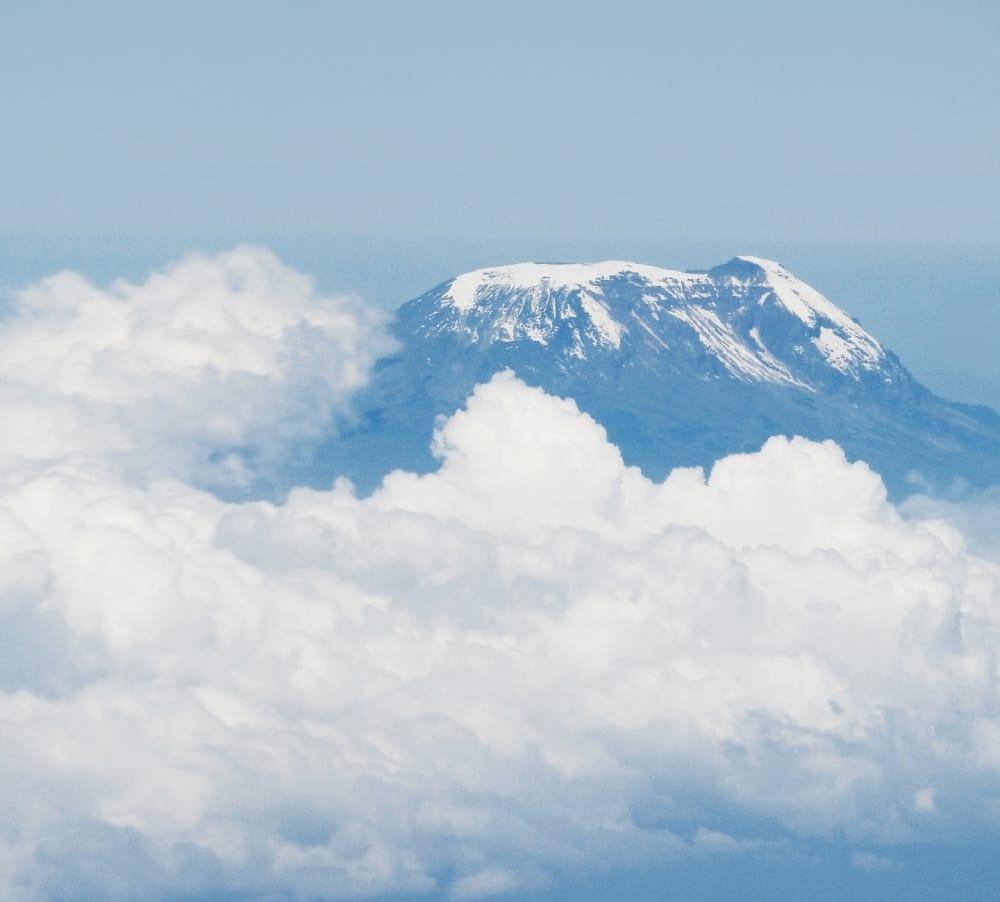 mount kilimanjaro clouds