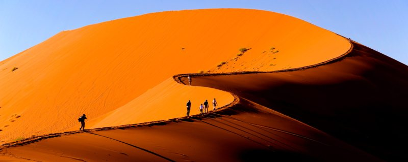 Sossusvlei is an incredibly enchanting region of Namibia