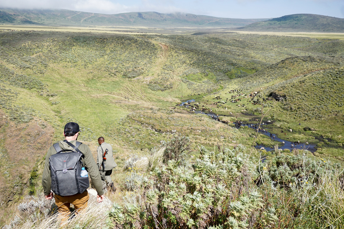 travel buckhead hike ngorongoro crater tanzania safari
