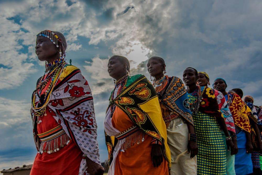 maasai dancers in the mara
