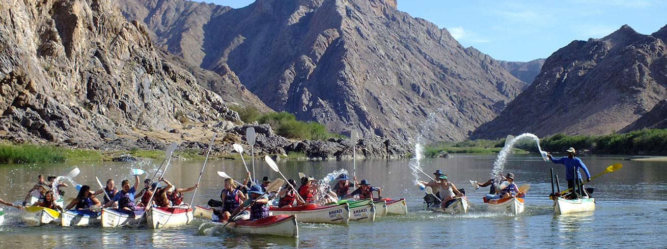orange river canoe