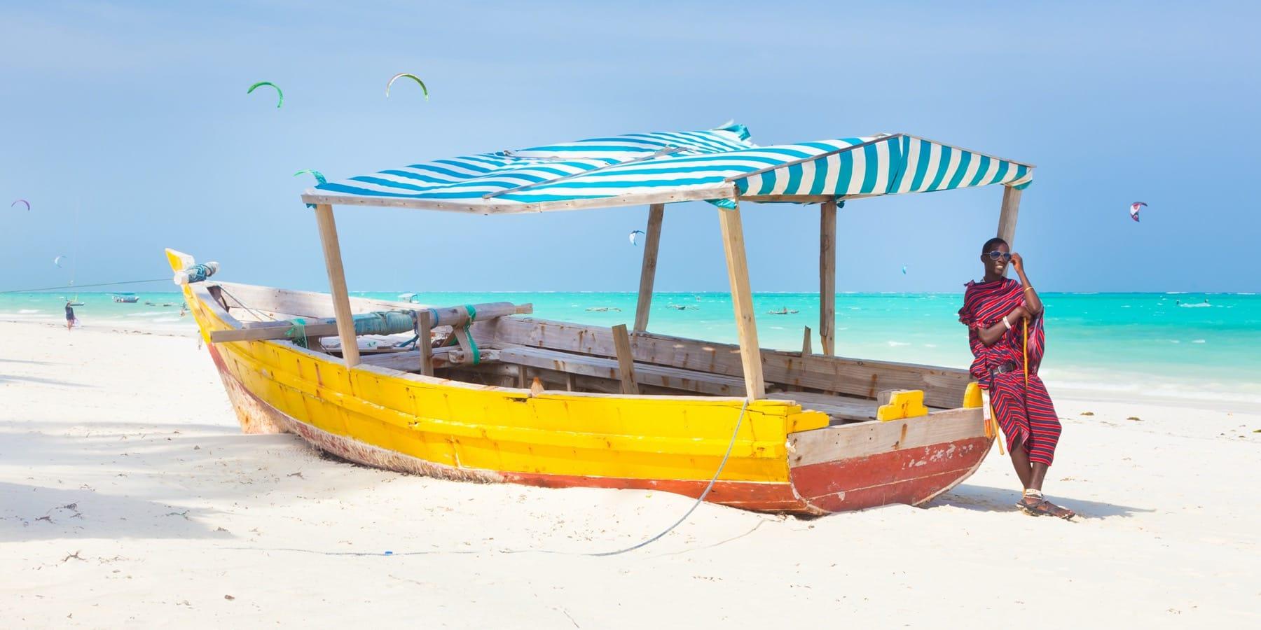paje beach zanzibar holiday