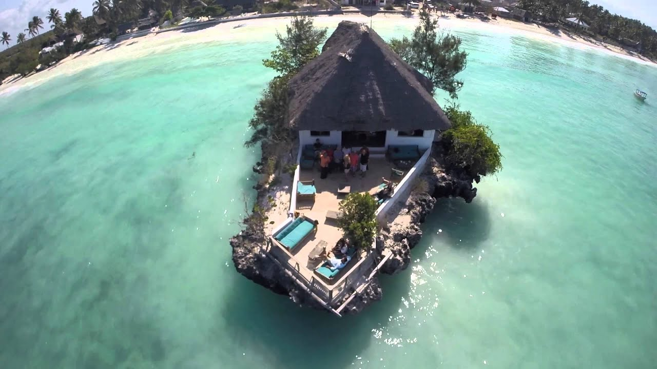 the rock restaurant where to eat in zanzibar on holiday