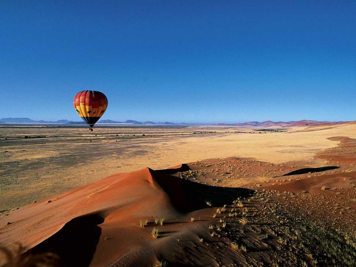 ballooning namibia