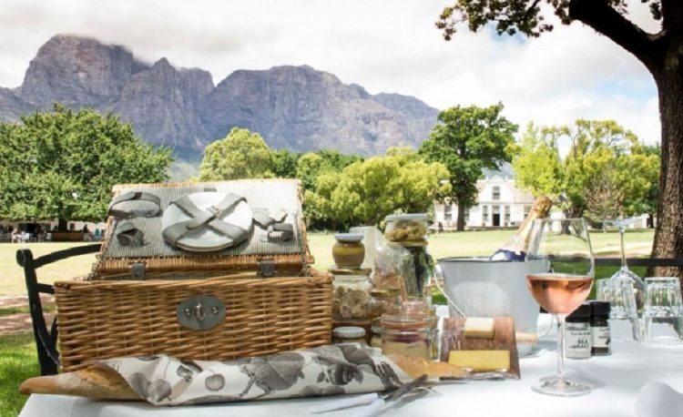 Romantic Picnics are an excellent option during the warmer months from October-April