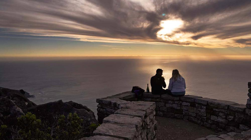 Imagine enjoying the breathtaking views atop Table Mountain with your partner?