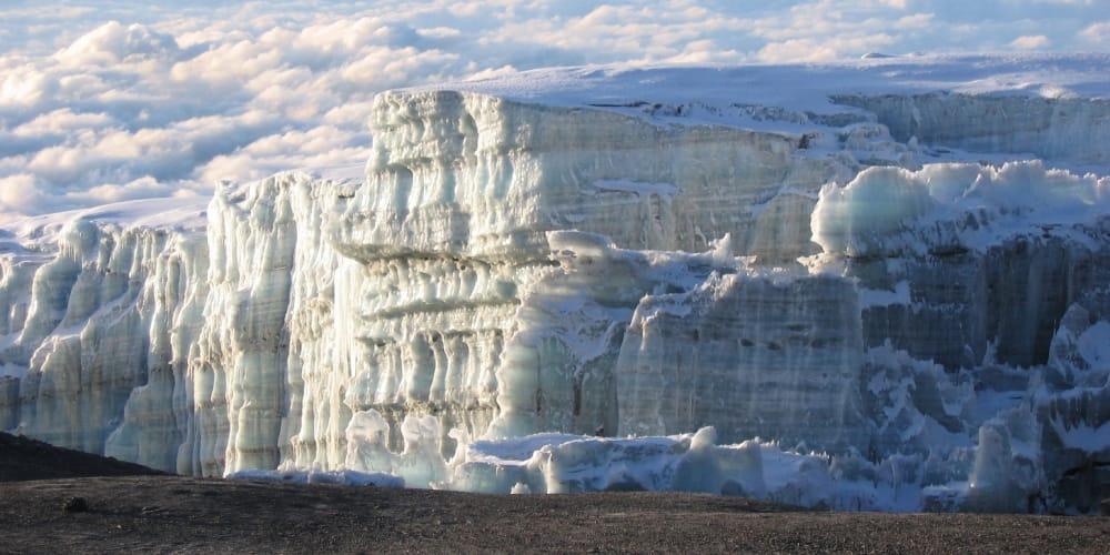 rongai route glaciers kilimanjaro