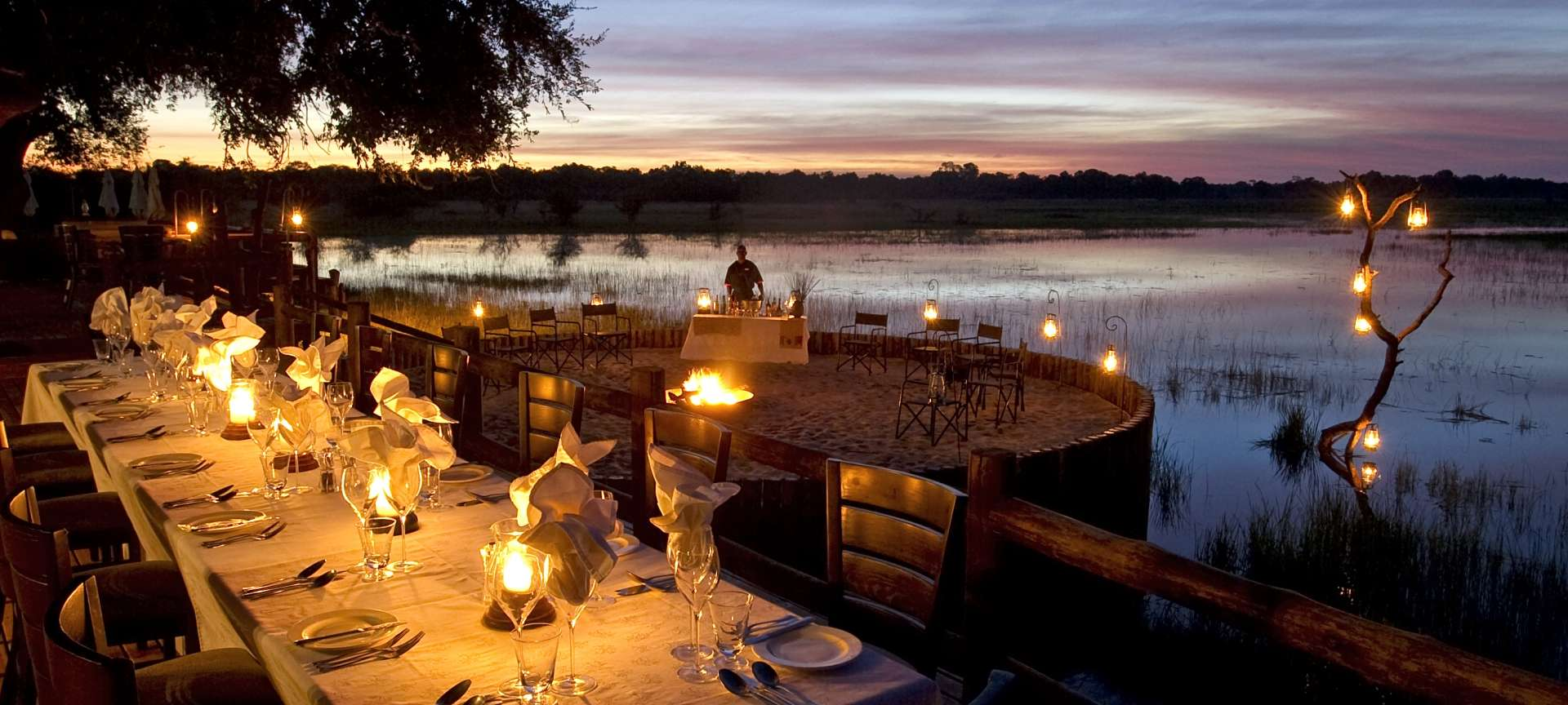 Luxury accommodation in Botswana