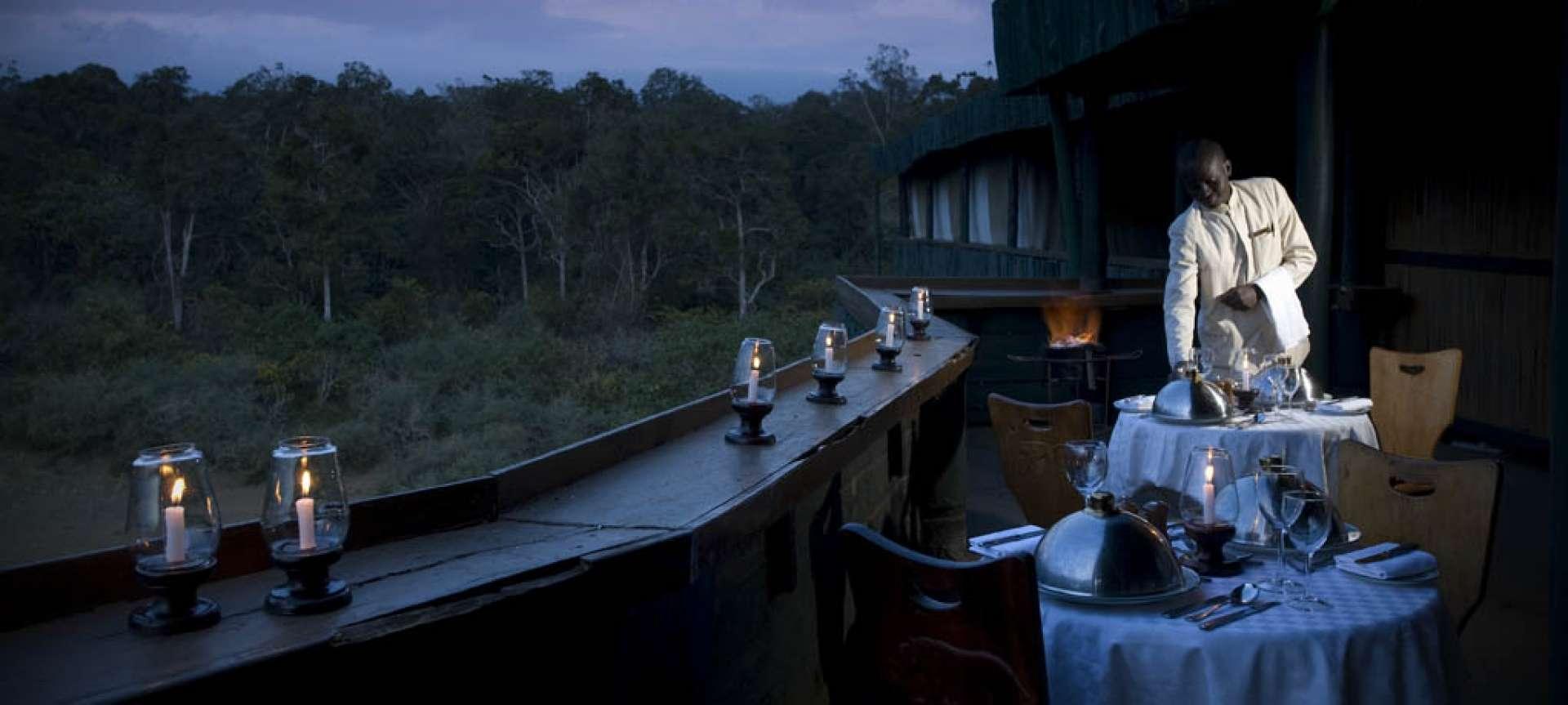 fine dining serena mountain lodge
