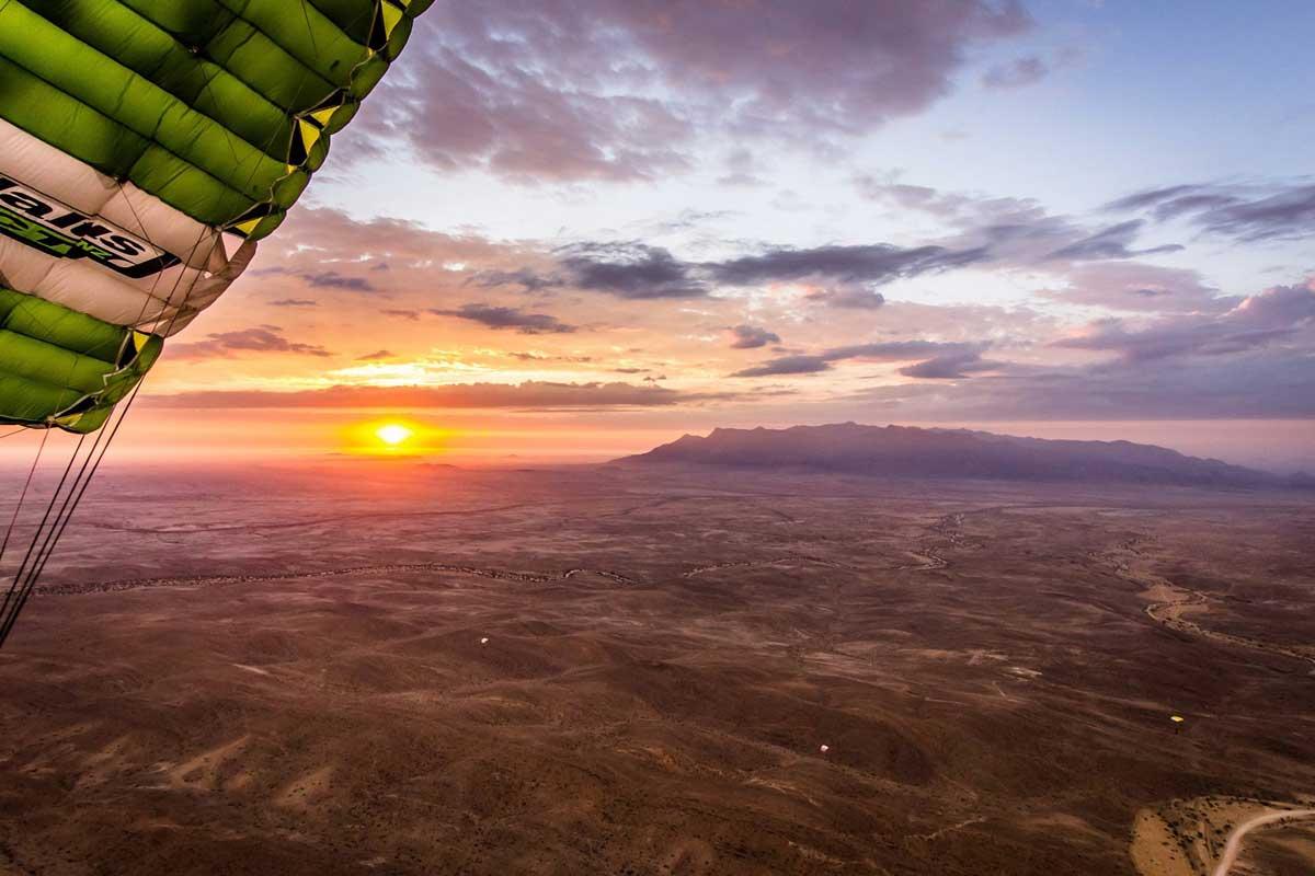 sky dive namibia