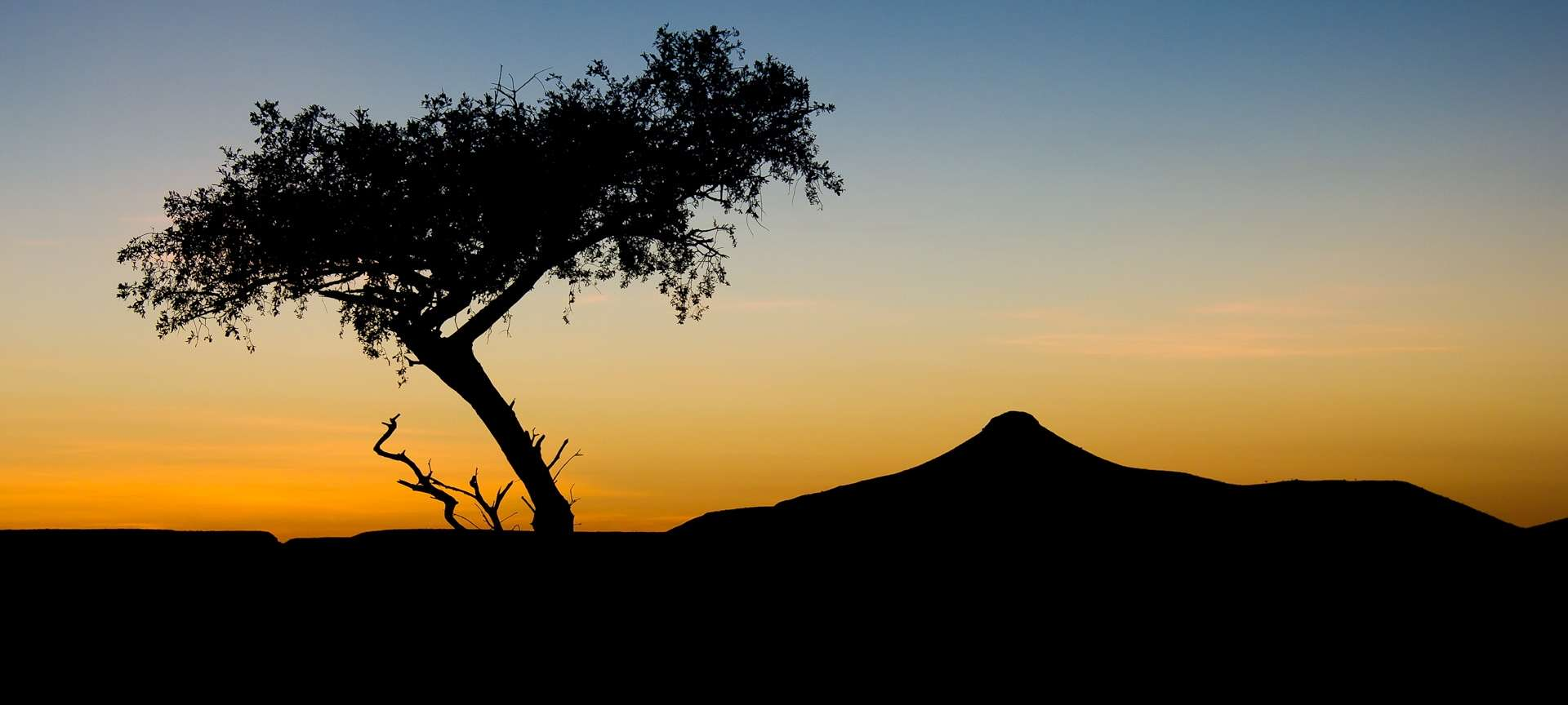 sunset damaraland